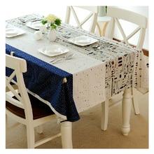 Mantel Toalhas de mesa Bordada Cubierta de Tabla Para Mesas Cuadradas de Lino Toalla Clothtowels La Mesa Bordada Mesa De Banquete