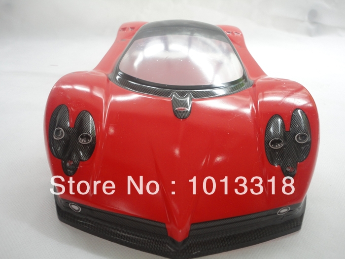 Ewellsold 032 190mm PVC painted 1:10  Shell body for 1:10 1/10 RC car 2pcs/lot