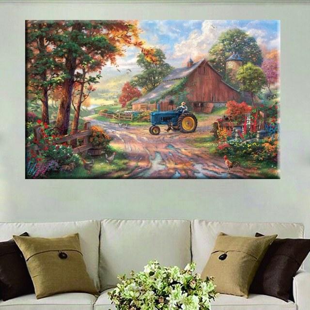 Village Room Decoration