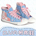 Game OW D.VA/ Tracer/Mercy Cosplay Shoes Size 36-39 for Over and Watch Fan Dva Accessories