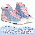 Jogo OW D. VA/Tracer/Misericórdia Cosplay Shoes Tamanho 36-39 para Mais e Assistir Fã Dva Acessórios