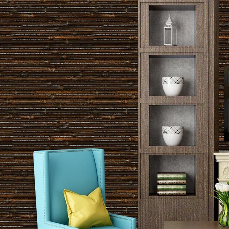 1 PC Wall Stickers 40 * 300cm 3D Wall Paper Brick Stone Effect Self-adhesive Wall Sticker Room Decor Drop Shipping 2018m1