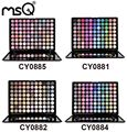 MSQ Professional Permanent 88 Colors Eyeshadow Makeup Palette Matte Shimmer Metallic Luminous For Beauty 4 Palette For Choose