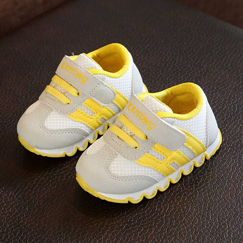 Toddler Kids Baby Girls Boys Shoes Mesh//PU Sports Shoes Running Sneakers Shoes