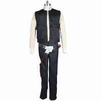 2017 Star Wars Han Solo ANH Belt Holster adults Halloween comic con Cosplay Costume Men Adults