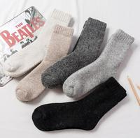 Good Quality Cashmere Material Ankle Thick Socks Discount On Hot Sales 5 Pairs A Lot