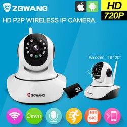 Zgwang hd 720p wifi ip camera wireless network home security camera cctv surveillance mini camera support.jpg 250x250