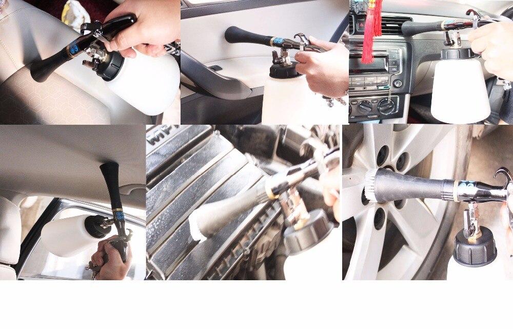 inoxidável japonês bearring tubo tornado arma para lavagem do carro