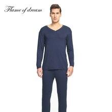 Material modal pijamas para homens pijamas masculinos pijamas masculinos pijamas masculinos homem conjunto de roupas 114
