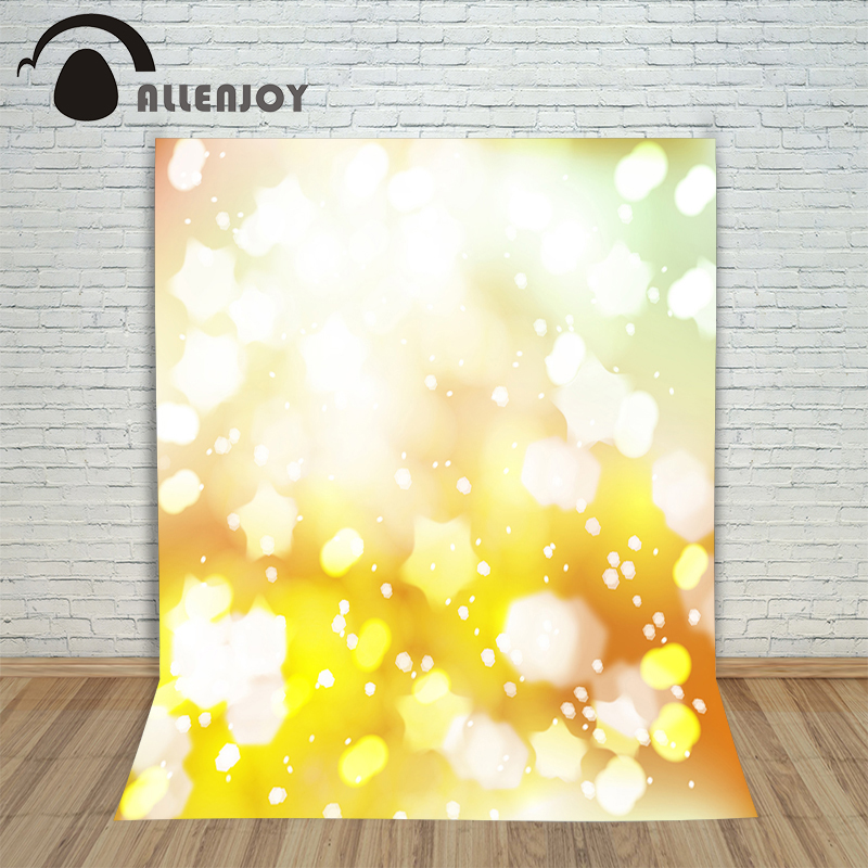 Allenjoy photography backdrops Golden shiny bokeh light background for photos photographic camera photo studio