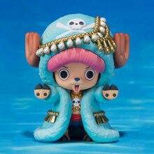 Yeni One Piece aksiyon figürleri Anime sevimli Tony Tony Chopper ren geyiği süsler hediye oyuncak bebekler modelleri pvc koleksiyonu heykelcik WX262