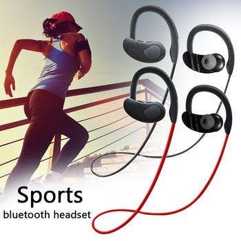 Portable Wireless Outdoor Sports Headphones Bluetooth Earphone USB Convenient IPX7 Waterproof Richer Bass Stereo Audio Earbuds