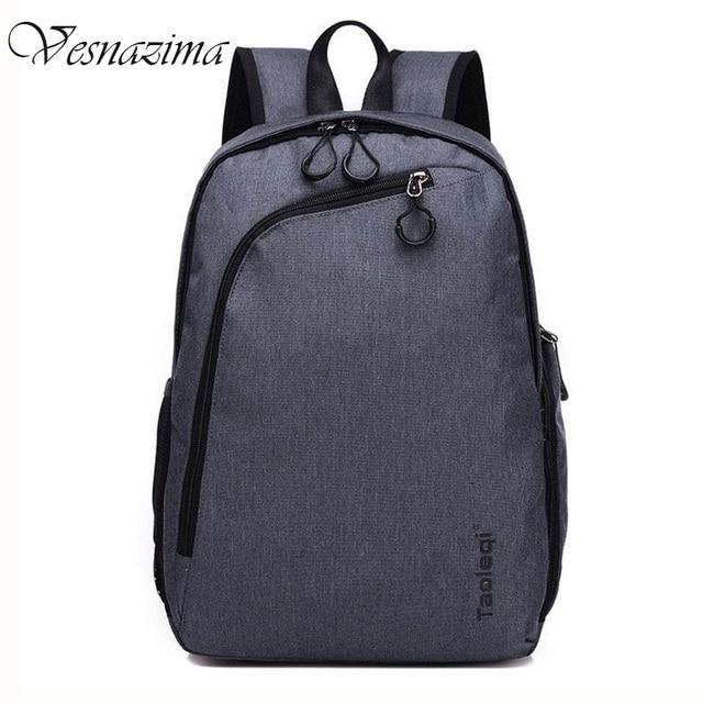 VESNAZIMA men backpacks waterproof laptop backpack for boys classic rucksack  for boys daily work bag for man travel pack rugzak fc363e44078db
