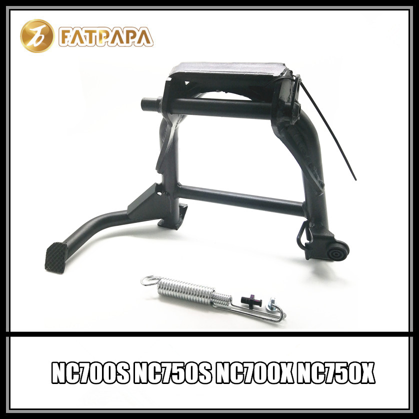 цена на Motorcycle Parking Stand Stainless Steel Stand Fits Honda NC700S NC750S NC700X NC750X