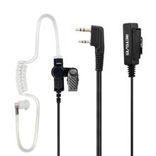 2 Pin рация гарнитуры микрофон для Kenwood Retevis H777 для Baofeng UV5R BF 888 S для TYT двухстороннее радио аксессуары C9005A