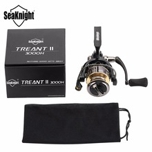 SeaKnight TREANT II 5.0:1 6.2:1 Fishing Reel 1000H 2000H 3000H 4000H Spinning Reel 13KG Max Drag Power Bass Carp Fishing Tackles