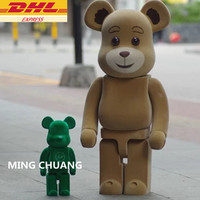 27 Bearbrick Gloomy 1000% Be@rbrick BB Bear Basic Vinyl Action Figure Collectible Model Toy 70CM D391
