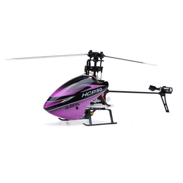 Hisky HCP80 V2 3D 6CH 3 Оси 6 Оси Гироскопа RC Вертолет БНФ