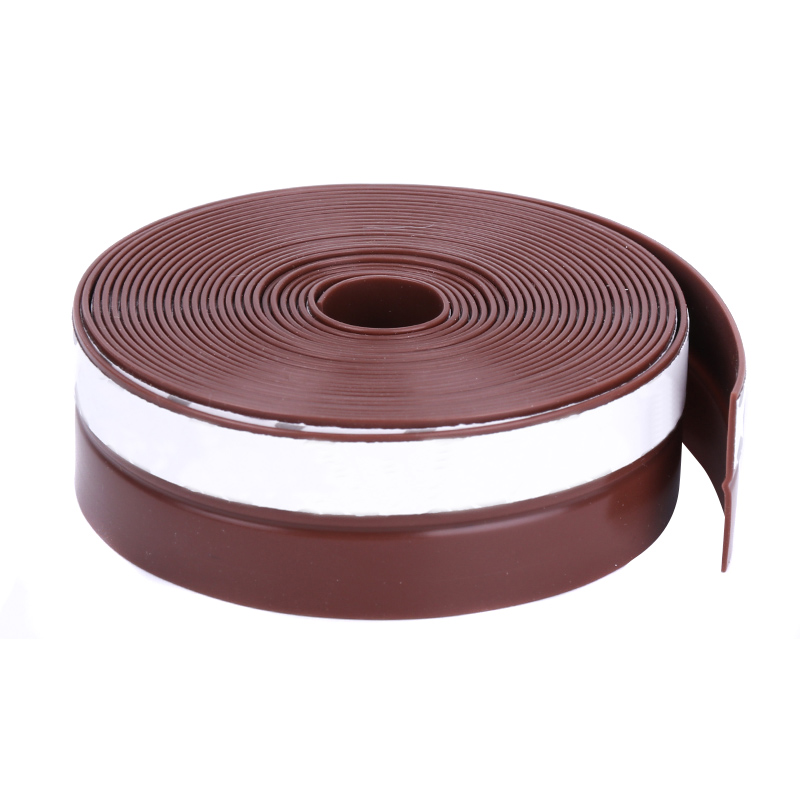 High 1 Pcs Self Adhesive Seal Strip 1M Silicone Door Window Draught Dustproof Weatherstrip LG66