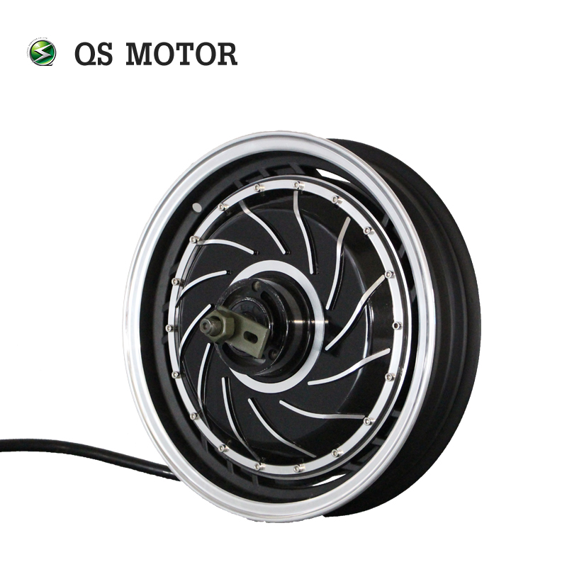 <font><b>QS</b></font> <font><b>Motor</b></font> 14inch <font><b>4000W</b></font> 273 40H V3 Brushless DC Electric Scooter Motorcycle Hub Moto image