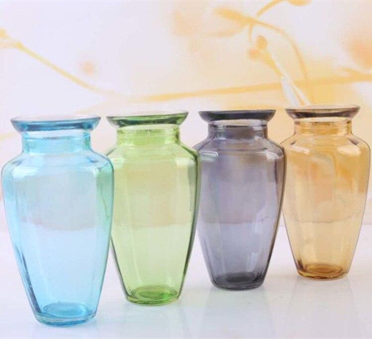 azul estilo europeo decoracin del hogar jarrn de flores para la mesa de boda creativo decoracin