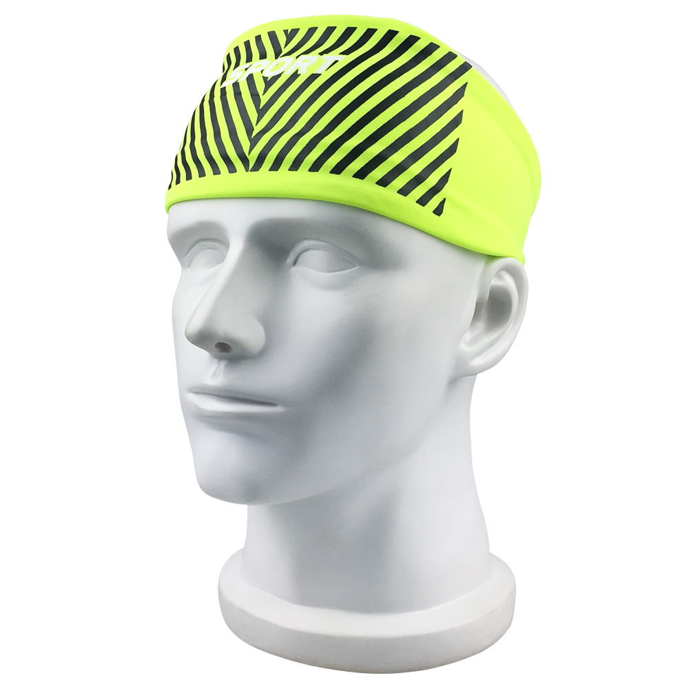 Fashion Women Men Sport Sweatband Headband Hair Elastic Running Fitness Sports Yoga Smooth Soft Head Band Hair Gym