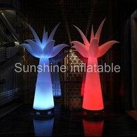 2016 Лидер продаж светодиодное освещение надувные пальмы для свадебных украшений, световые украшения для вечеринок кокосовое дерево