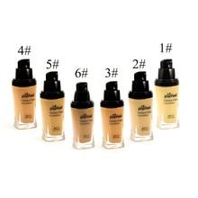 6 Color Makeup Face Foundation Liquid Perfect Cover Concealer Long Lasting Moisturizing Oil-control Facial Base Liquid Big Sale