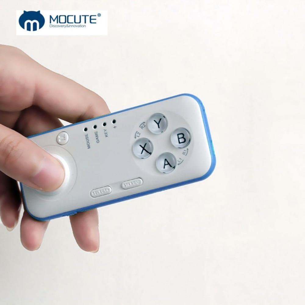 MOCUTE Gamepad bluetooth Joystick für PC Android iOS mid TV box Drahtlose Fernbedienung mit Selfie Shutter drahtlose maus