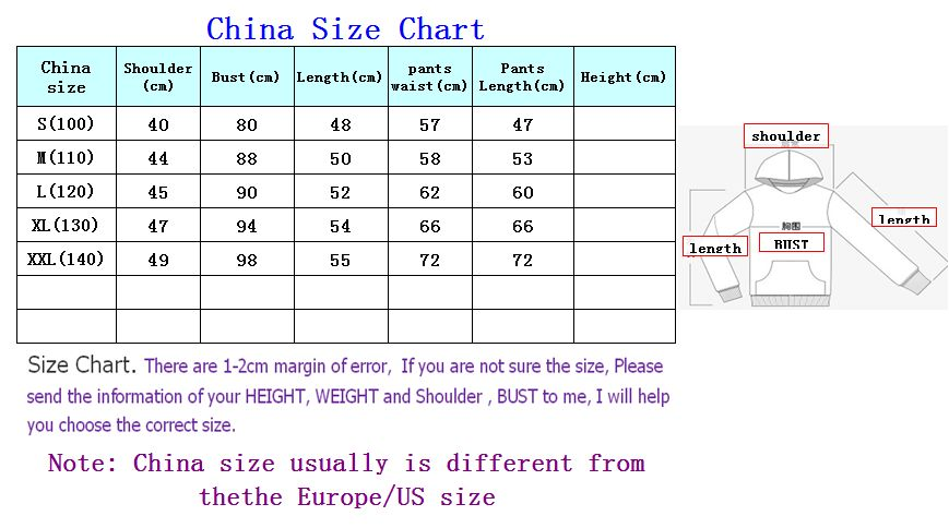 Male And Female Clothing Size Conversion Charts Disabled World