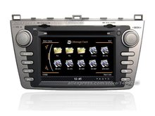 Para Mazda 6 2009 ~ 2013-GPS Car Navigation System + rádio TV DVD iPod BT 3G WIFI Tela HD Multimídia sistema