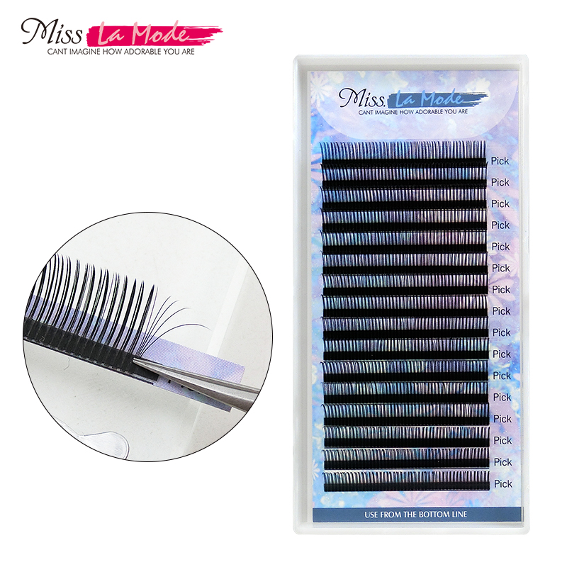 Misslamode 0.07 5D Volume Eyelash Extension Mink  False Fake Lashes Eyes Lashes False Eyelashes Natural Individual
