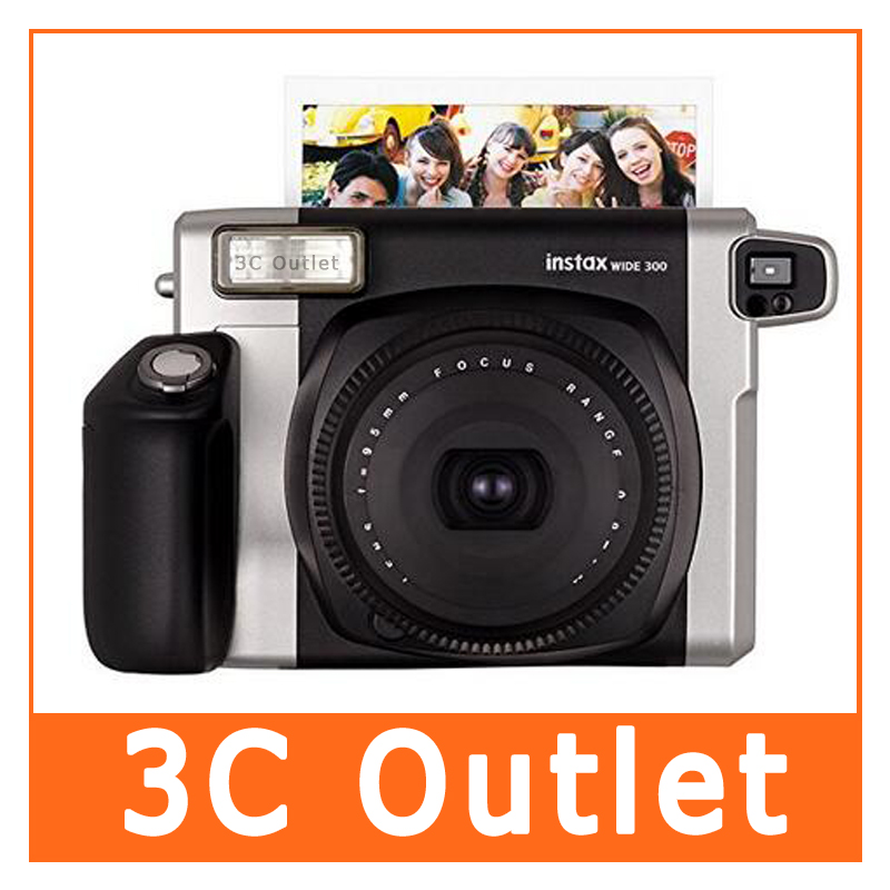 Fujifilm Instax Wide 300 Instant Film Photo Camera(black), Free Shipping fujifilm instax 300 black