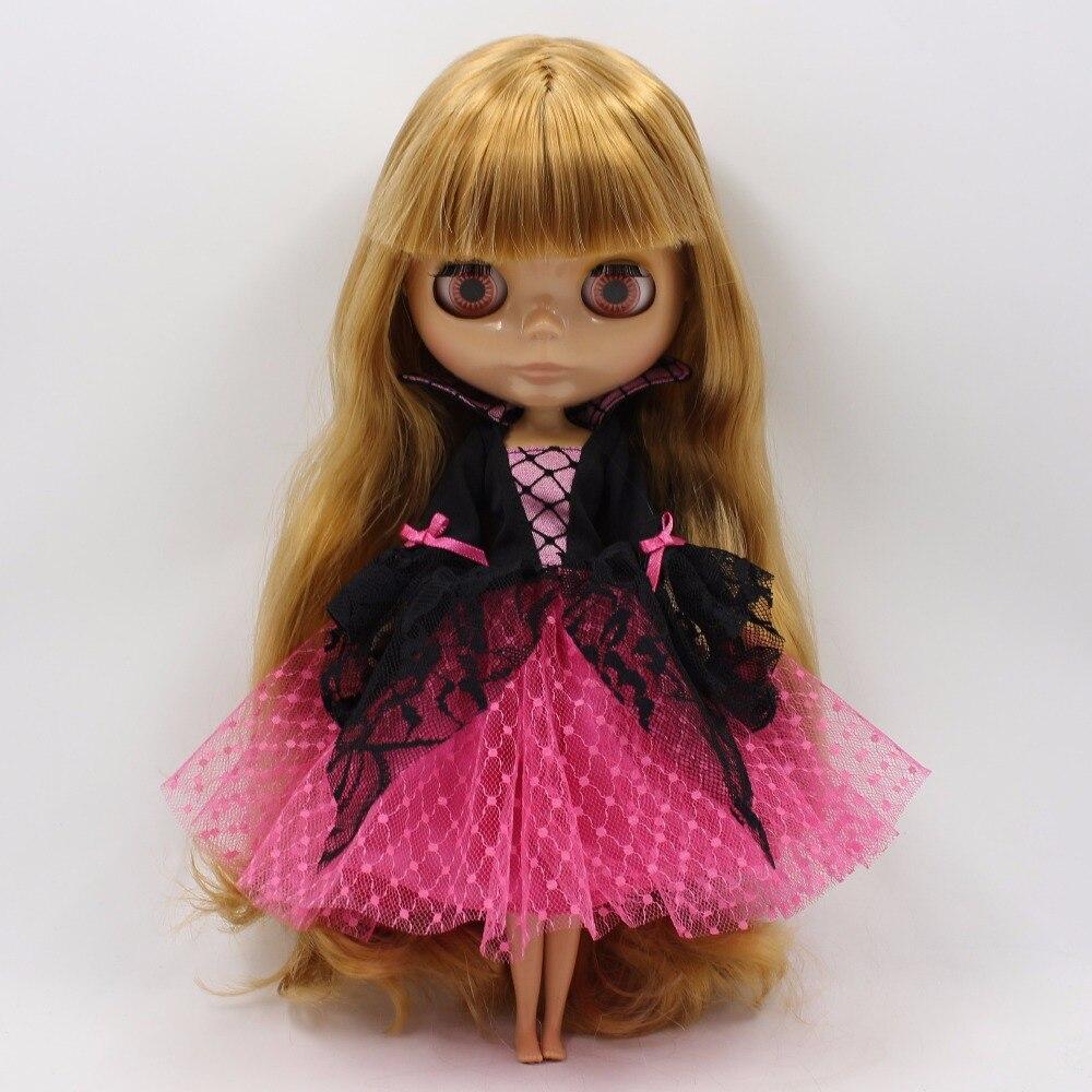 Neo Blythe Doll Halloween Clothes Vampire Dress 5