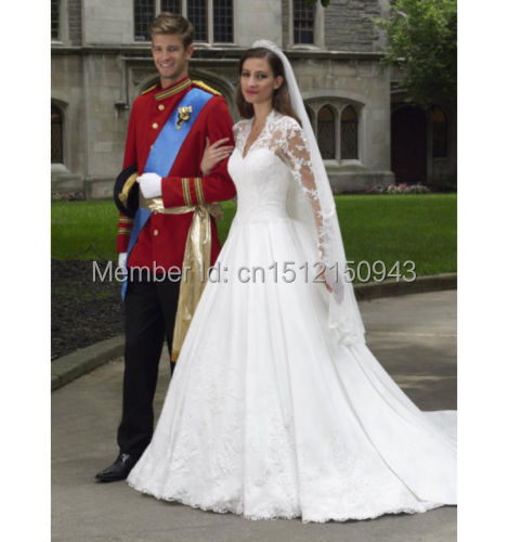 Princess Diana Lace Full Sleeves Appliques Hottest