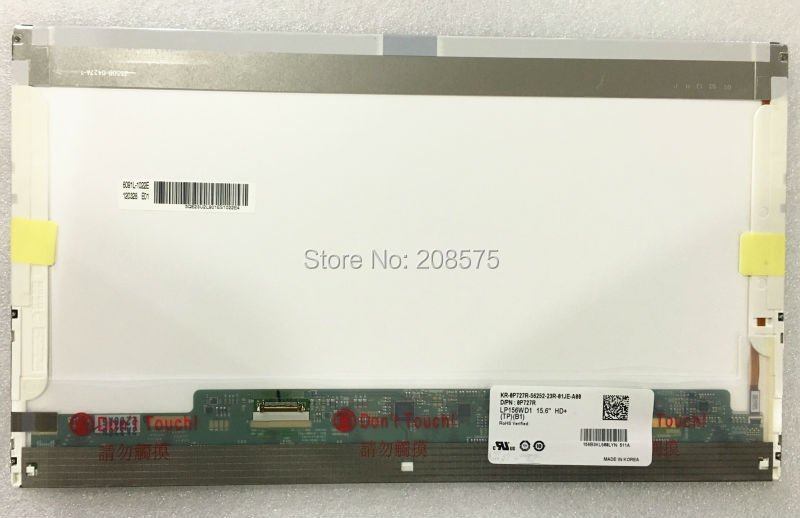где купить Free Shipping LP156WD1 TPB1 LP156WD1-TPB1 LTN156KT01 NEW LED Display Laptop Screen Pancel for DELL E5510 30PIN 1600*900 по лучшей цене