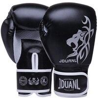 Fresco Respirável Luvas de Boxe para Os Homens Formação Guants Luvas de Treinamento de Muay Thai MMA Sanda