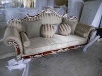 Linen Fabric Sofa Chair Living Room Furniture Couch Velvet Cloth Chairs Living Room Sofa Fabric 3
