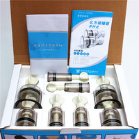 Rotary Bio Magnetic Vacuum Cupping Kit SCREW VALVE SUCTION Nipple Correction Cups For Flat Or Inverted