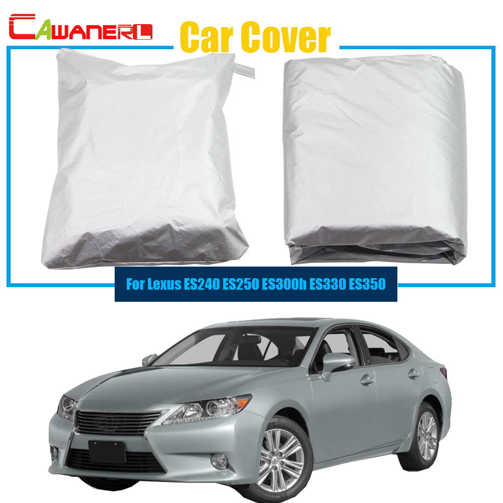 Outdoor Car Cover Anti UV Sun Shield Snow Rain Resistant Protector Cover For Lexus ES Series ES240 ES250 ES300h ES330 ES350