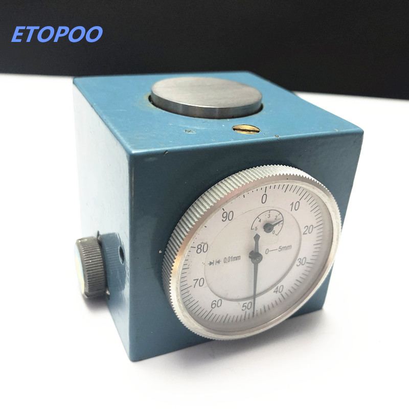 """Image 5 - Magnetic Z Axis Tool Dial Zero Pre Setter .001"""" Gage Offset CNC Metric Range 0 5mm or inch size 0 0.1""""-in Gauges from Tools"""