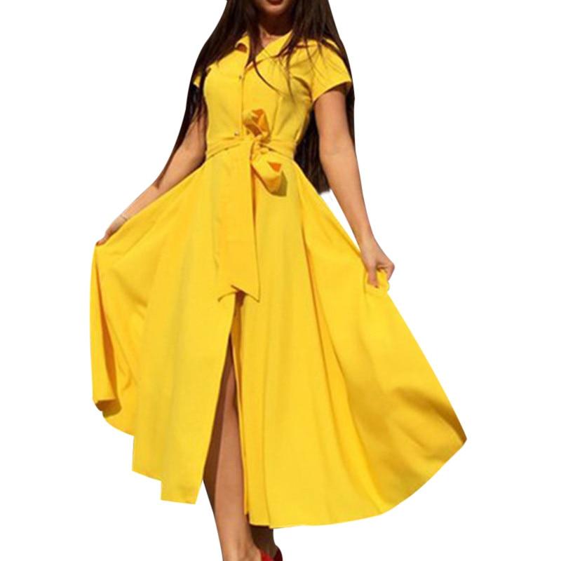 Vestidos Women Maxi Dress Elegant Bohemia Beach Sashes Summer Dress Perfect Short Sleeve Sexy Summer Dress Chiffon Long Dress