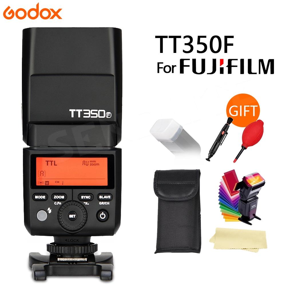 Godox Flash TT350 TT350F GN36 2 4G TTL Camera Flash Speedlite for Fujifilm Cameras free shipping