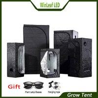 Расти Палатка для внутреннего гидропоники парниковых завода освещения палатки 80/100/120/150/240/300 растет палатка
