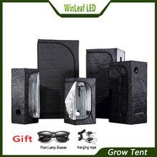 לגדול אוהל מקורה הידרופוניקה חממה צמח תאורה אוהלי 80/100/120/150/240/300 גידול אוהל