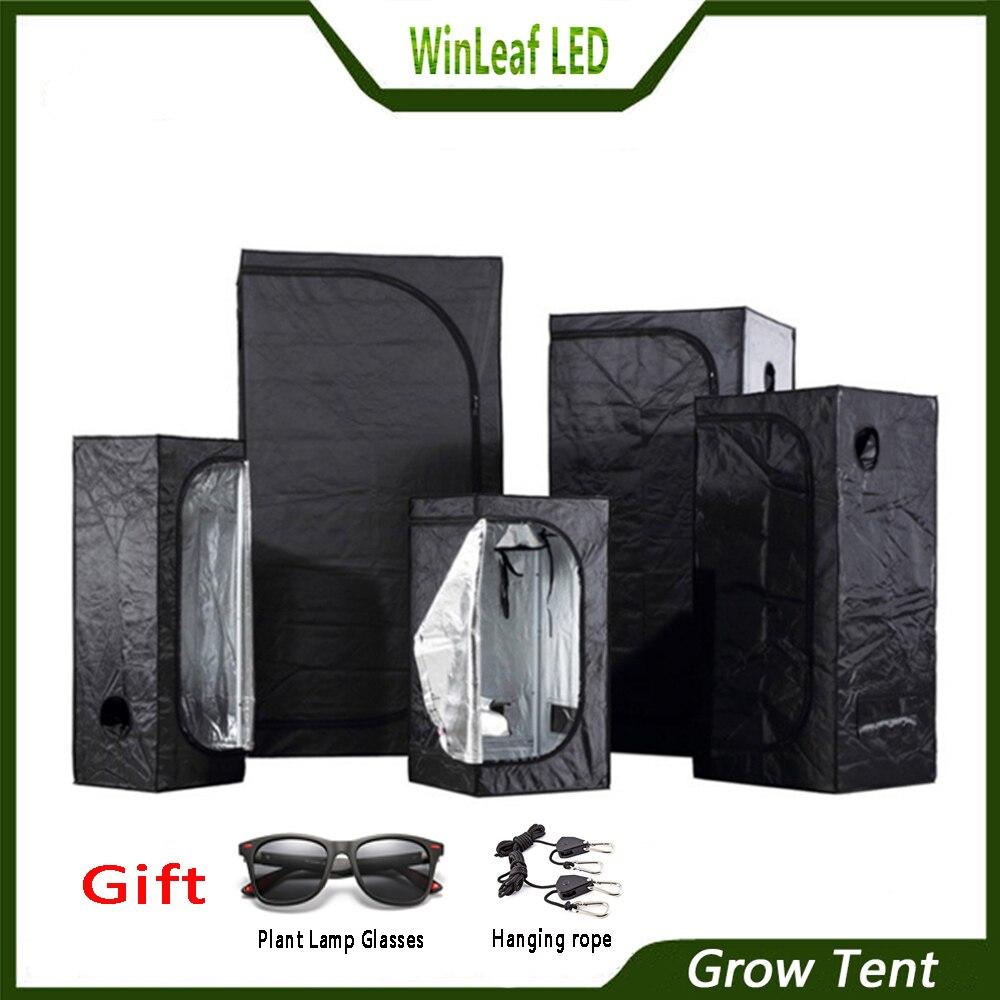 Tente de culture pour les tentes d'éclairage de plantes de serre hydroponique d'intérieur 80/100/120/150/240/300