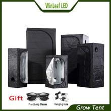 Растут палатки для Гидропоника в помещении парниковый завод освещение палатки 80/100/120/150/240/300 растущий тент