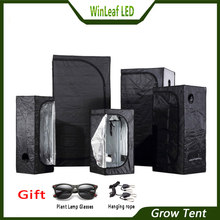 grow tent for indoor hydroponics greenhouse plant lighting Tents 80/100/120/150/240/300 Growing tent(China)
