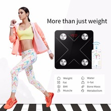 Scales Body Fat Digital Bathroom Weight Electronic Scales Floor Balance Intelligent Household Scales Bathroom Body Weight Scale omron hbf 358 weight loss weight fat measurement instrument electronic body fat scales weight fat measurement apparatus hbf 358