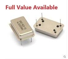 5 шт. прямоугольник активных кварцевый генератор DIP-4PIN 4 мГц/8 мГц/10 мГц/11.0592 мГц/12 мГц/16 мГц/20 мГц/22.184 мГц/24 мГц/40 мГц/50 mhz/m